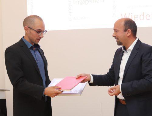 David Wiedenau gewinnt den Rolf-Pecher-Preis 2019 mit seiner Masterarbeit zum Thema CFD-Simulationen