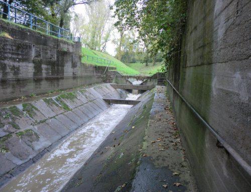 Abwasserkanal Handbach